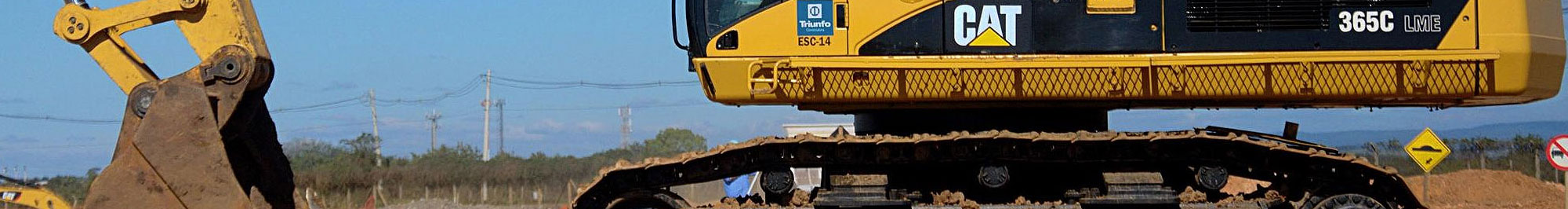 Caterpillar Excavator Undercarriages