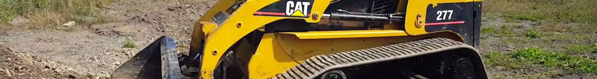 Caterpillar Skid Steer Undercarriage Replacement Parts