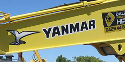 Yanmar Undercarriage Parts